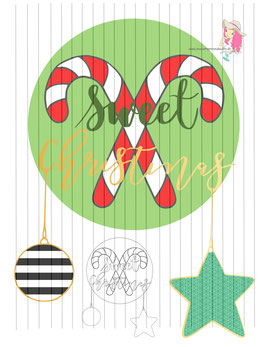 sweet christmas  {digi-stamp}