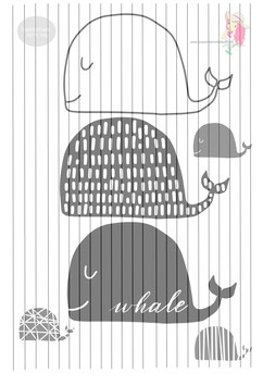 whales {plottervorlage}