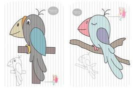 birdy {plottervorlage}