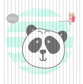 paul panda  {plottervorlage}