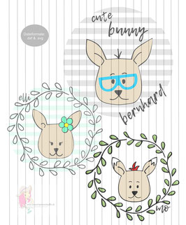 cute bunnys - freebie