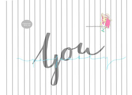 perfectly  you {handgelettert}