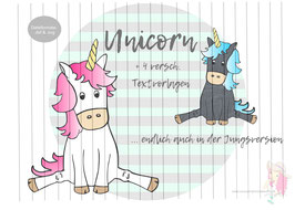 unicorn {plottervorlage}