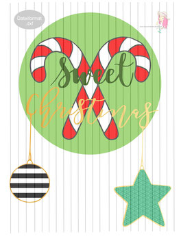 sweet christmas - freebie