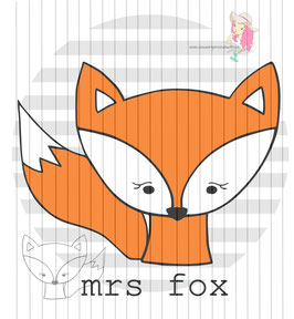 mrs fox {digi-stamps}