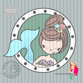 mermaid maddy {plottervorlage}