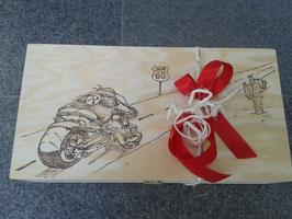 """Weinbox und Geschenkebox """"Biker 2"""""""