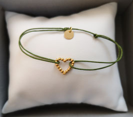 "Armband  ""Herz aus Gold"""