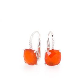 Boucles d'oreilles Cornaline
