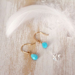 petit turquoise earrings