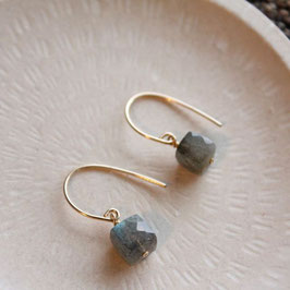labrado cube earrings