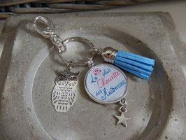 Porte clés Court, Maitresse ou Atsem