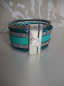 Manchette turquoise