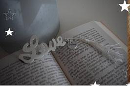 Marque page LOVE