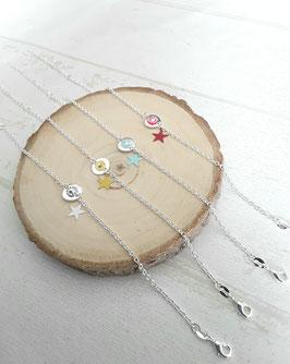 Bracelet fin argent plaqué 925