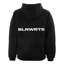 BLNWRTS HOODIE BACKPRINT - BLACK