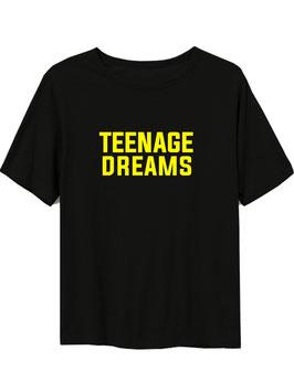 TEENAGE DREAMS TEE - BLACK