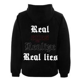 REAL EYES HOODIE - BLACK