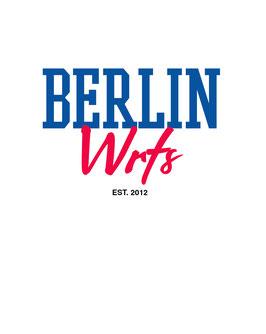 """Berlin Wrts"" Poster"