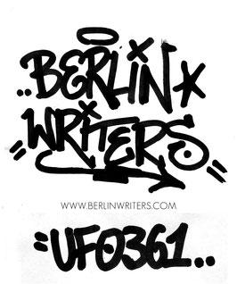 BerlinWriters Sticker #UFO