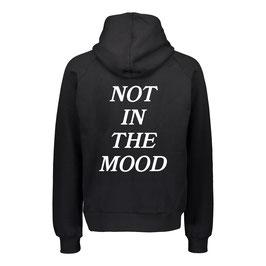 NOT IN THE MOOD HOODIE - BLACK