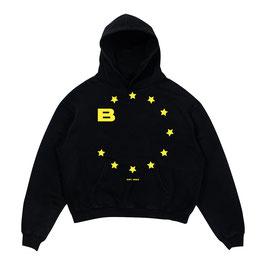 EUROPE HOODIE - BLACK