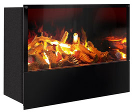 The Flame - Effektfeuer Hip Stone/Wood XL - Einbau