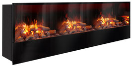 The Flame - Effektfeuer Hip Stone/Wood XXXM - Einbau