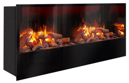 The Flame - Effektfeuer Hip Stone/Wood XXM - Einbau