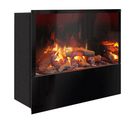 The Flame - Effektfeuer Hip Stone/Wood XM - Einbau
