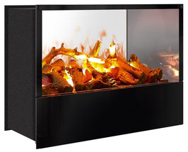 The Flame - Effektfeuer Hip Stone/Wood Tunnel XL - Einbau