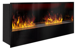 The Flame - Effektfeuer Hip Steel XXM - Einbau