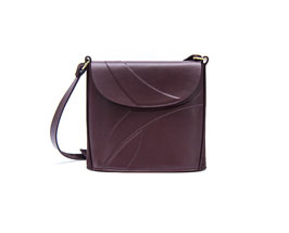 LADY BAG  mini weinrot