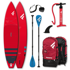 iSUP-Package FANATIC Ray Air  RED - Touring (2 Grössen)