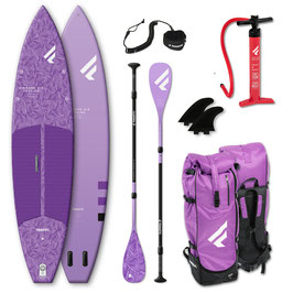 """iSUP-Package FANATIC Daimaond  Air Touring POCKET LAVENDER  11'6 x 31 """""""