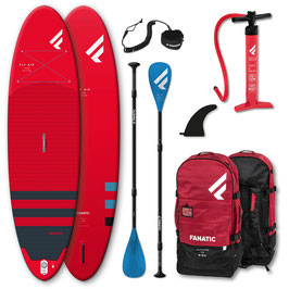 """iSUP-Package Fanatic Fly Air RED - 10'4"""" (gebraucht 2021)"""