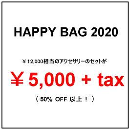 HAPPY BAG 2020/秋冬トップス+アクセサリーセット