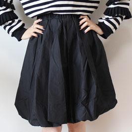 シャカシャカコクーンスカート ブラック