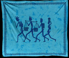 Plaid ou tenture en coton : Inde
