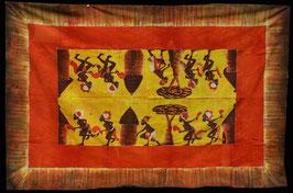 Nappe  Africaine batik en coton  : Sénégal