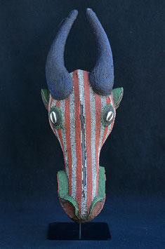 Masque-tête de buffle Africain BAMILEKE (Cameroun)