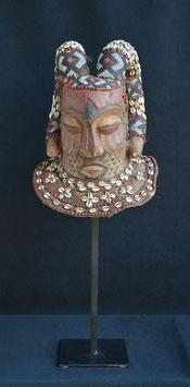 Masque Africain casque Kuba Bushoong  (R D C ex Zaïre)