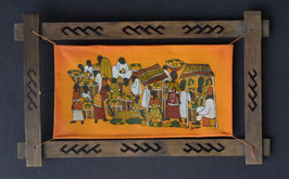 Batik Africain en coton  :  Kénya