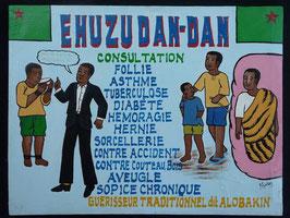 Médecin artiste Africain  Norkos   :  Bénin
