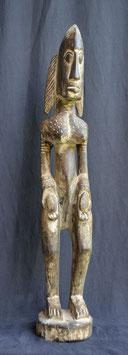 Statue Africaine en bois du Mali  :  Dogon