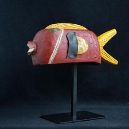 Masque Africain  Marionnette Poisson Bozo (Mali)