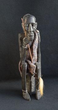 Statue Africaine sorcier Itula - Kénya