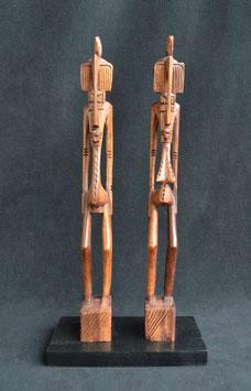 Couple Sénoufo  : (Côte d'Ivoire)