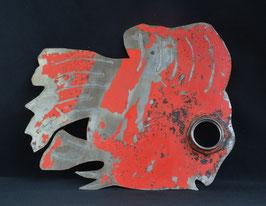 Poisson en fût de métal recyclé : Burkina Faso
