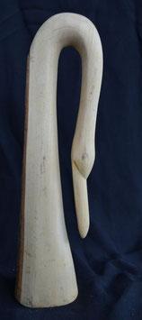 Buste de cygne en bois  : Kénya
